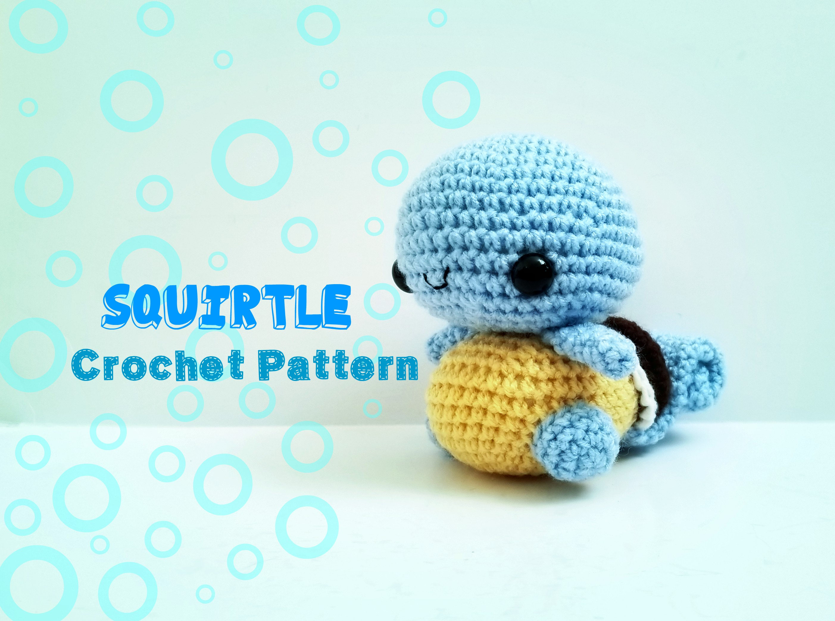 Squirtle Crochet Pattern Pattern Only Etsy