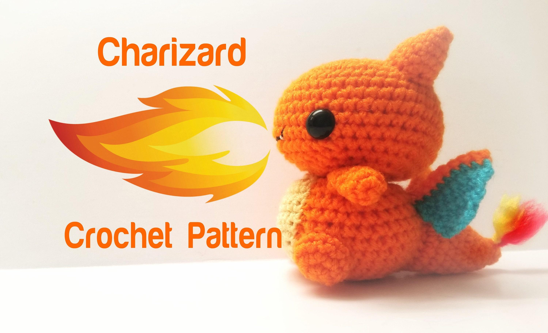 Charizard Crochet Pattern Pattern Only Etsy