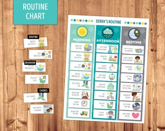 Routine Chart & Cards