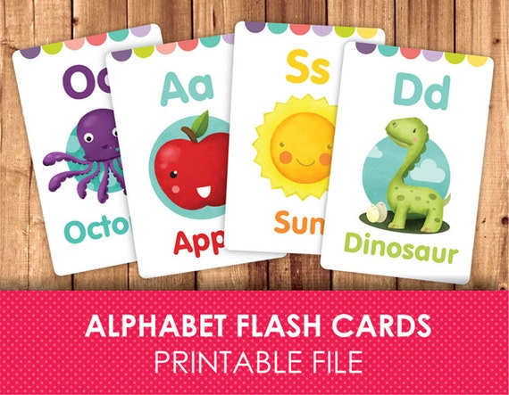 graphic about Abc Flash Cards Printable identified as Flashcards for Young children / Printable Flash Playing cards / ABC FlashCards / Alphabet / Printable Alphabet / Printable instantaneous down load