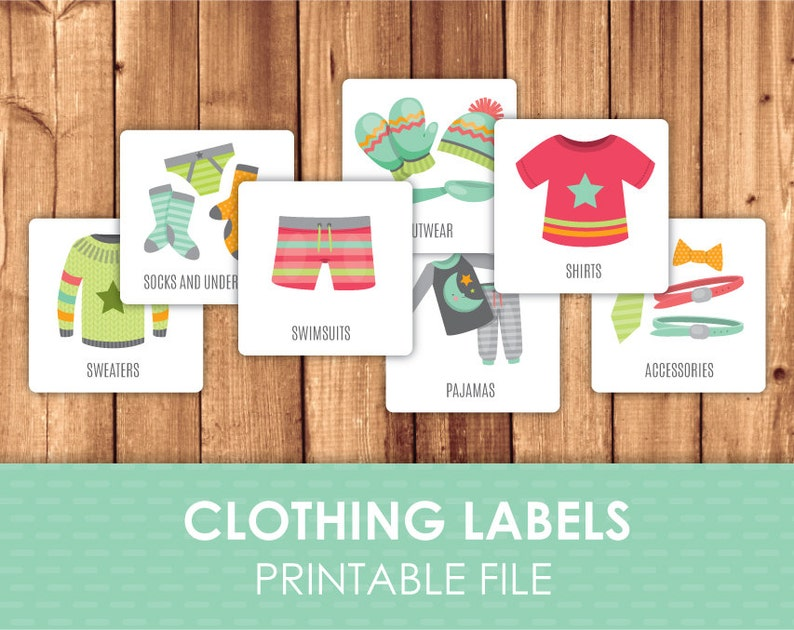picture relating to Printable Clothing Labels known as Printable Garments Labels