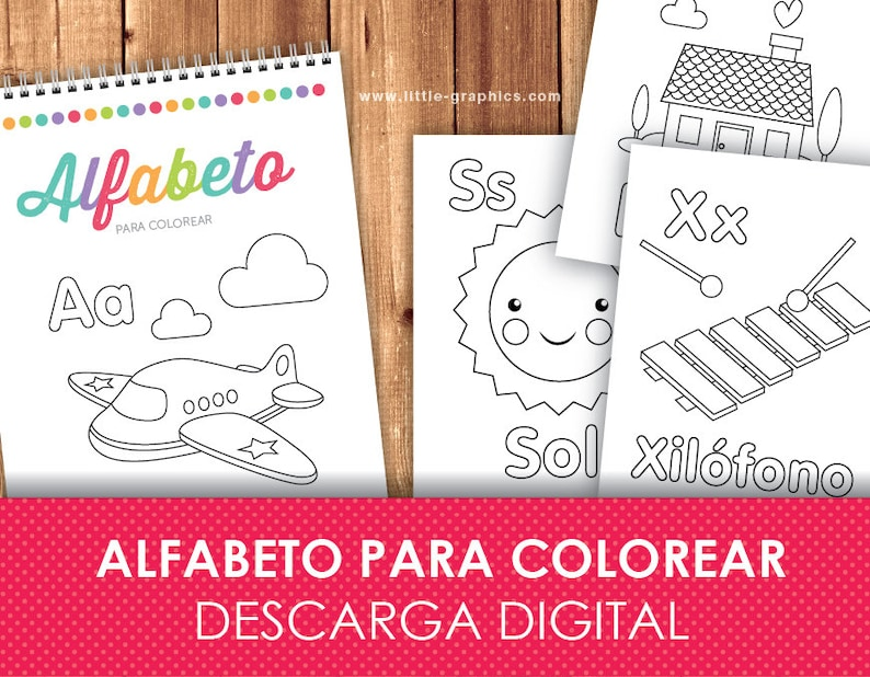 photo regarding Spanish Alphabet Printable referred to as Printable Spanish Alphabet Coloring Internet pages