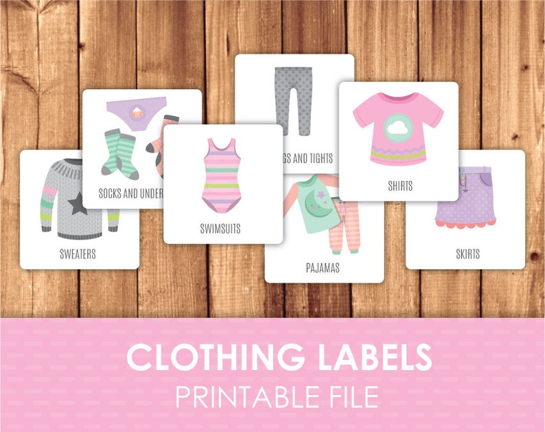 photograph relating to Printable Clothing Labels named Printable Apparel Labels