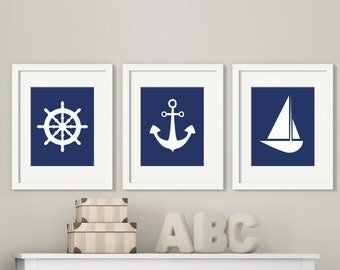 Popular Items For Nautical Wall Art