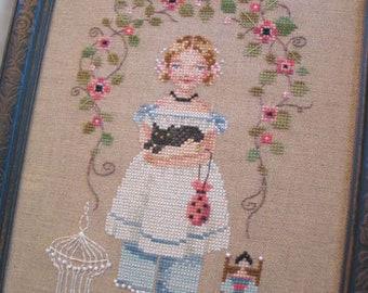 Brooke's Books Emma Rose Sampler INSTANT DOWNLOAD Cross Stitch Chart