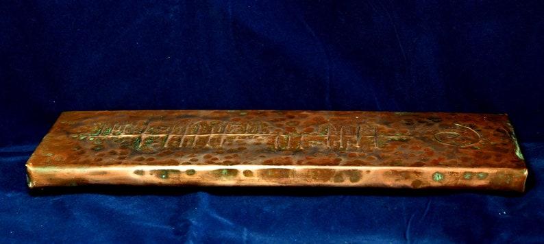Irish Welcome Sign Ireland Vintage Hand Made Copper Failte Plaque.