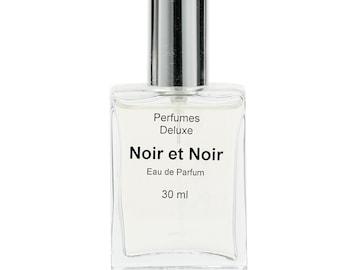 Noir et Noir Perfume (Designer-type) from Perfumes Deluxe, 3 ml, 10 ml, 30 ml.