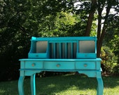 EXAMPLE ONLY Painted Secretary, Desk, Vanity, Ladies Writing Desk SImilar items available