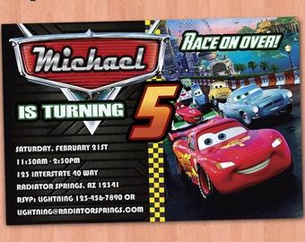 Cars 2 Einladung