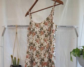 90s floral sundress