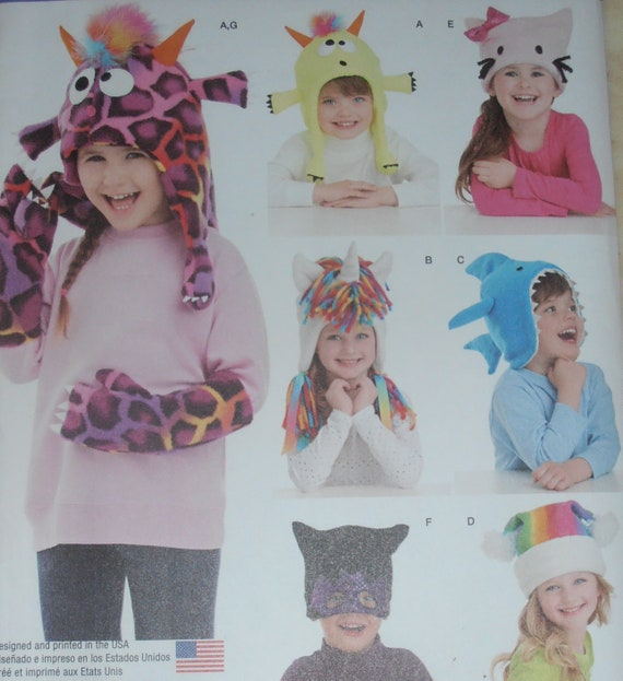 Kids hats Simplicity 1292