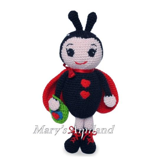 Coccinella Uncinetto Amigurumi Tutorial - Ladybug Crochet ... | 570x570