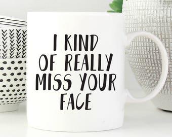 Miss You Mug Etsy