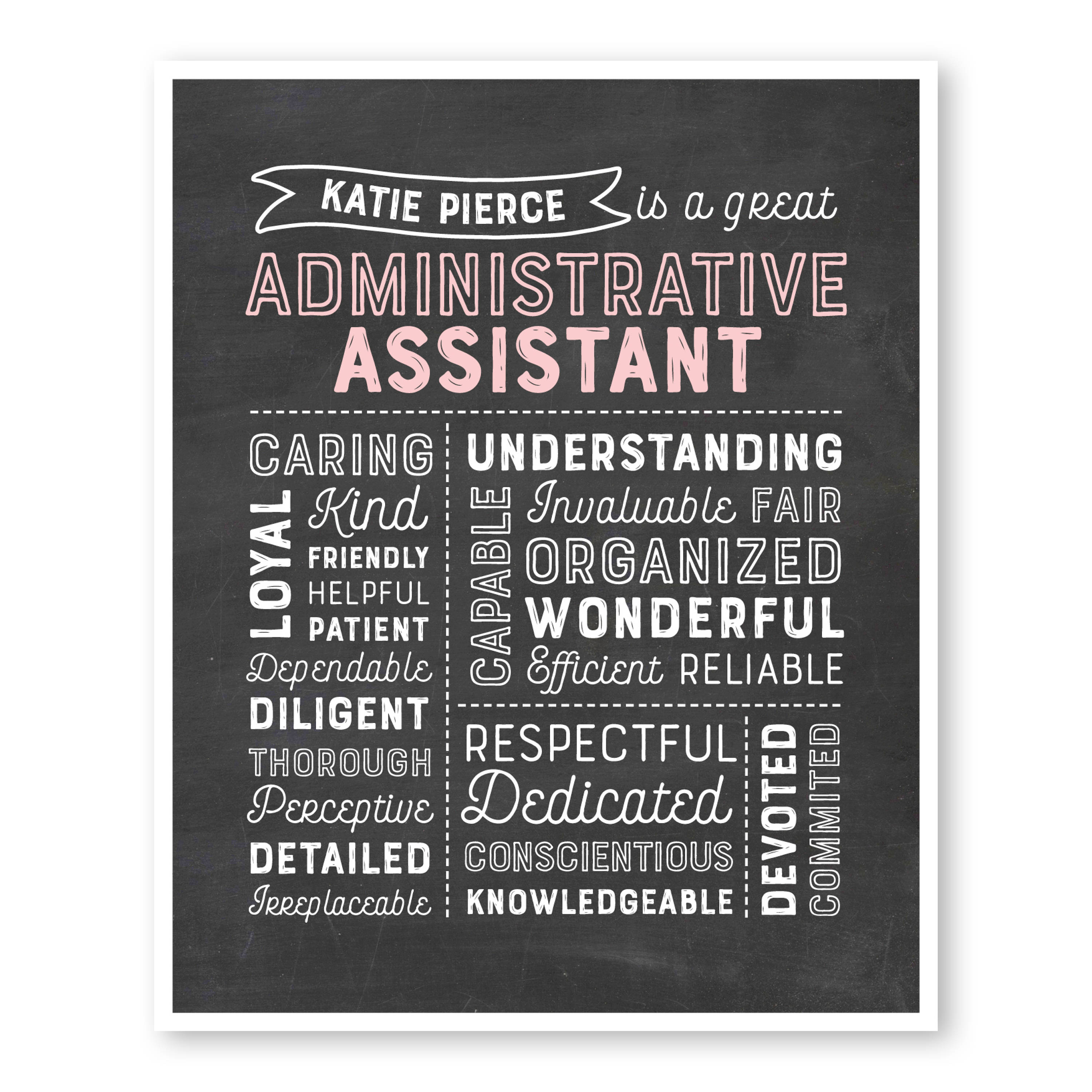 Administrative Assistant Gift Administrative   Etsy