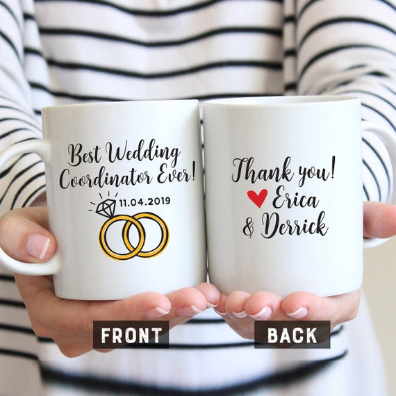 Wedding Officiant Script Funny 170 | Wedding Coordinator Mug Gift For Wedding Coordinator Wedding Etsy