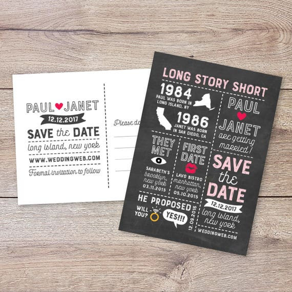 long story short save the date template Wpa wpart