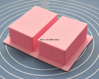 Oblong Cuboid Flexible Silicone Mold Cake Mold Chocolate Mold Cookie Mold Icing Mold Polymer Clay Mold Resin Mold Soap Mold