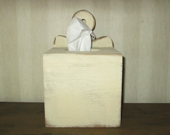 Primitive Tissue Box Cover