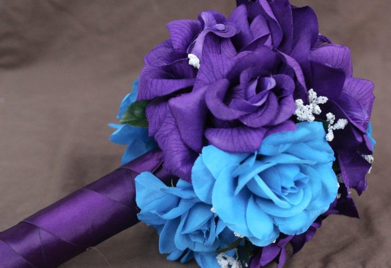 52107d4c18 Malibu Blue   Purple Bouquet bouquet malibu blue bouquet