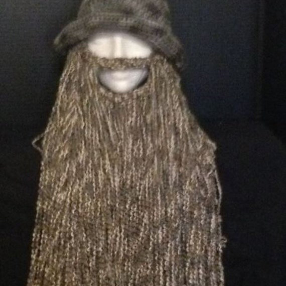 Wizard beard and hat