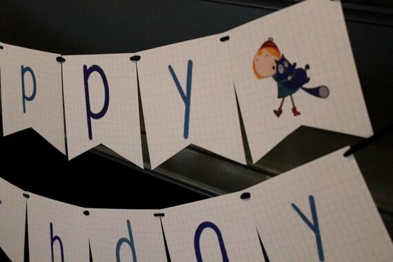 2 Personnalisé Curious George Anniversaire Bannières Décoration affiches