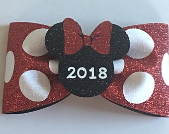 Tailless Disney Inspired Cheer Bow Dance Bow