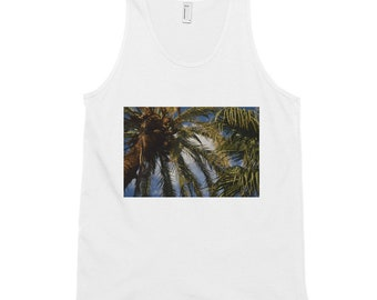 Palm Trees Up Close - Classic tank top
