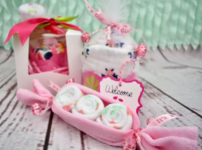 New Baby Gift Sets Baby Cupcakes New Parents Gift Onesie Cupcakes Gift Set New Baby Boy New Baby Gift Basket Baby Shower Gift Girl