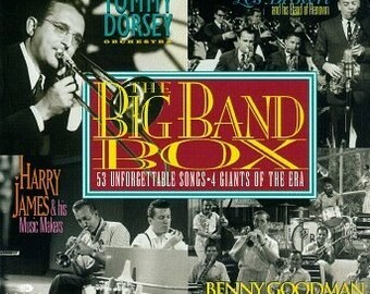 The Big Band Box, 4 Volume Set CDs -  Goodman, Dorsey, Brown, James, 53 songs