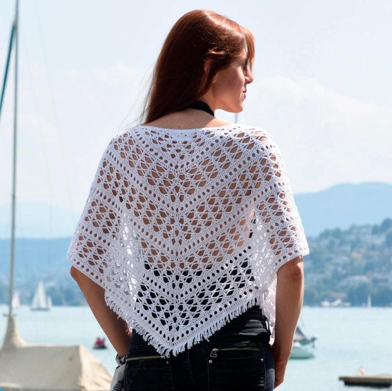 Crochet shrug PATTERN for sizes M-5XL crochet TUTORIAL in image 0