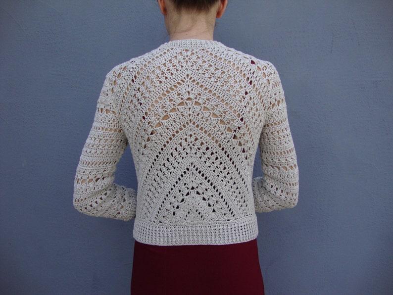 Crochet Jacket Pattern Crochet Tutorial In English With Etsy