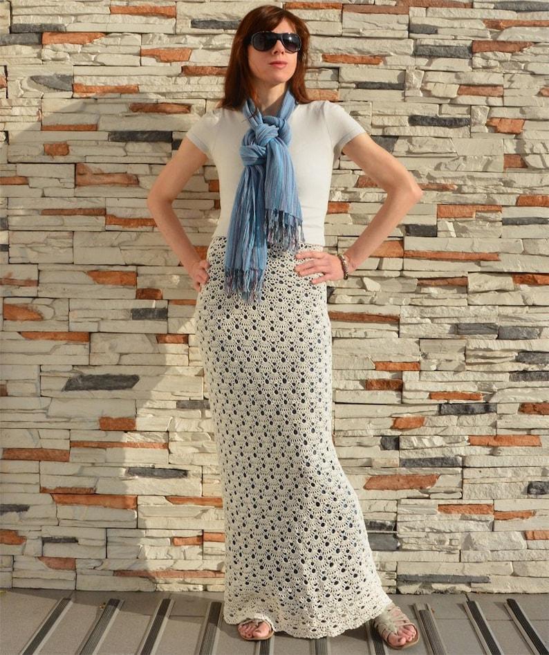 Easy crochet skirt PATTERN for sizes S-4XL crochet TUTORIAL image 0