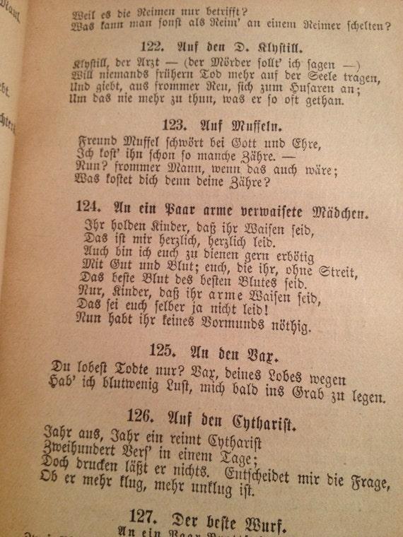 Reduced Rare German Book Poetische Und Dramatische Werke Poetry And Dramatic Works Of Ge Lessing German Writer Poet Philosopher
