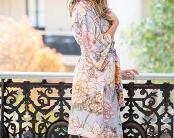 Ivy & Matilda Audrey Silk Kimono Robe | Bridesmaid Robe | Made in Australia | Ready to Ship
