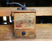 Vintage Antique coffee grinder from The Swift Mill by ...  |Coffee Grinders Antique Label