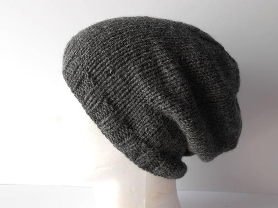 Beanies for Men. Men s Grey beanie Hat Men s Slouchy  dd5737df005