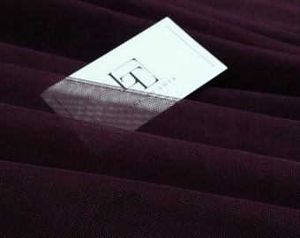 Fabric Deep Dark Violet Wine Washing Cotton Fabric 59 Wide by Yard 103736