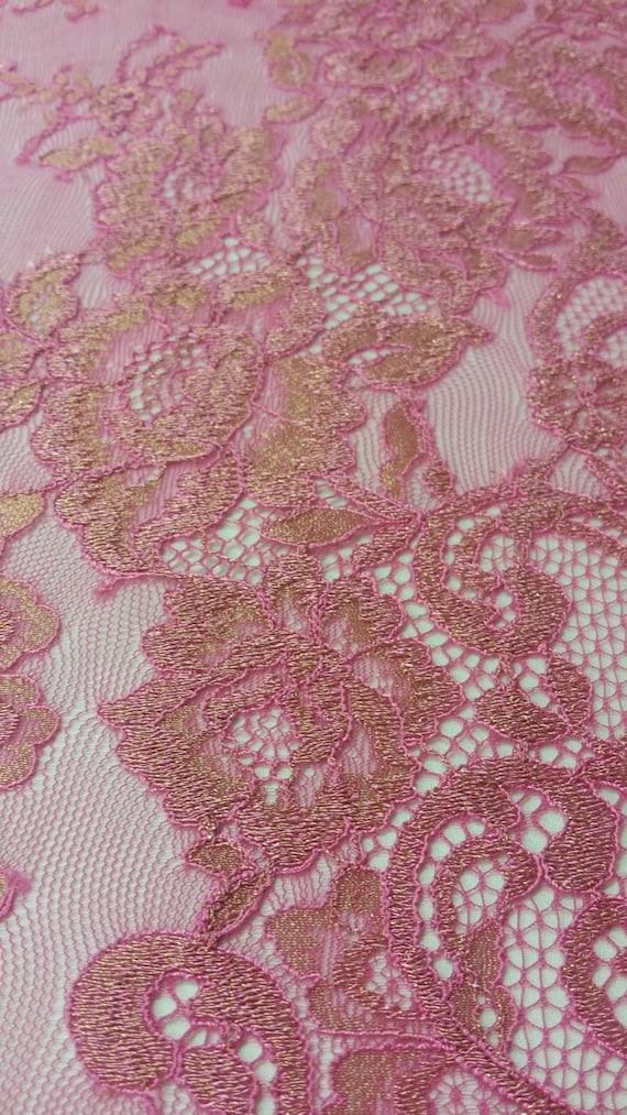 Or rose dentelle, Français dentelle, dentelle de Chantilly, dentelle de de dentelle mariée mariage soirée de dentelle robe dentelle festonnée Floral dentelle Lingerie dentelle L423016 755e7e