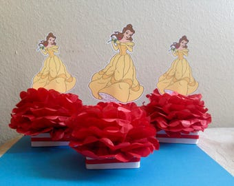 Beauty And The Beast Centerpiece Etsy