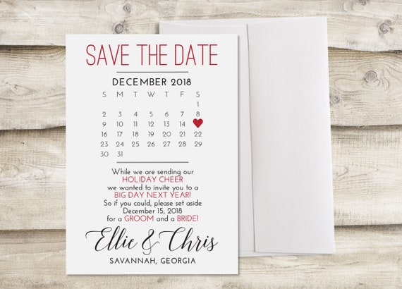 Christmas Save The Date Cards.Printed Holiday Save The Date Cards With Envelopes Christmas Save The Dates Holiday Save Our Date Cards Save The Dates Christmas Holiday