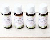 Organic Peppermint Essential Oil 10 ml , Mentha Arvenis - Peppermint Oil