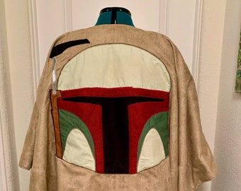 Star Wars Mandalorian Inspired Cosplay Winter Poncho