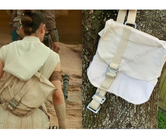 Replica Rise of Skywalker Rey Bag | Star Wars Rey Inspired Rucksack Bag with Adjustable Strap