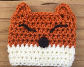 Fox Coffee Cozy