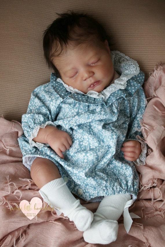 "Realborn® Johannah Sleeping 19/"" Reborn Doll Parts Kit DIY"