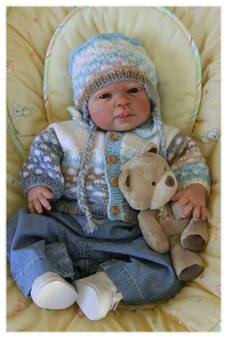 Buy One Get One 25/% Off 34 limbs 19 inches 7-9 lbs Custom Reborn Babies SPECIAL OFFER Merle by Jannie de Lange