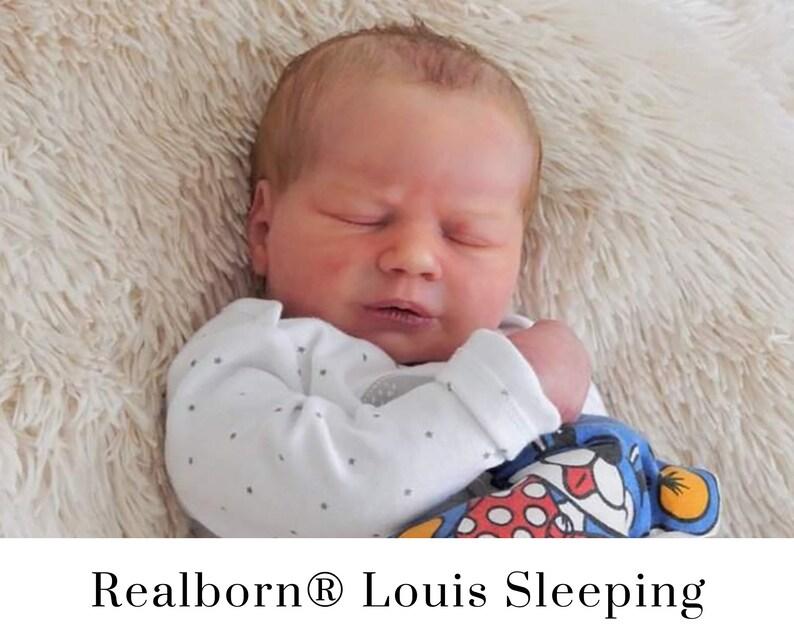 CuStOm Realborn® Louis Asleep 18 Inches  Full Limbs image 0