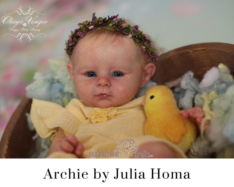 CuStOm Archie by Julia Homa 22 Inches  Full Limbs image 0