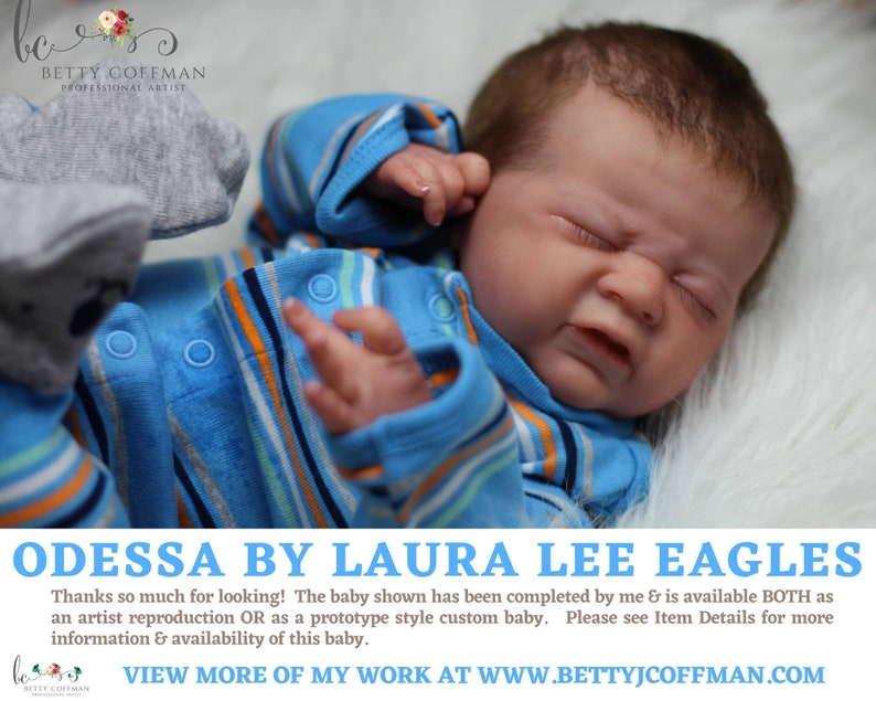 CuStOm Odessa by Laura Lee Eagles 18 Inches  Full Limbs image 0