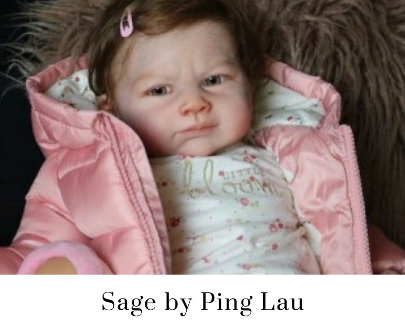 CuStOm Sage by Ping Lau 21 Inches  Full Limbs image 0